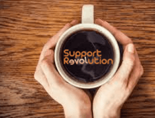 Great coffee at Support Revolution