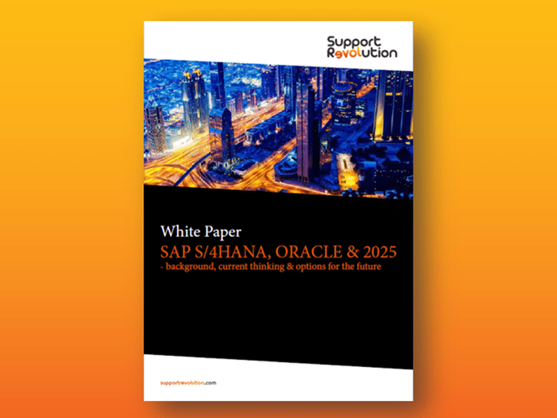 Технический документ - SAP S / 4HANA