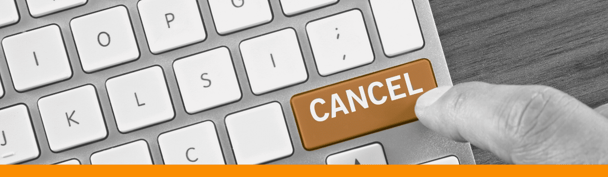 hit cancel on your oracle gold partnership