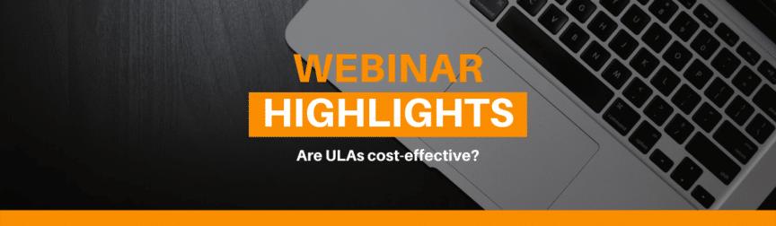Are ULAs cost effective