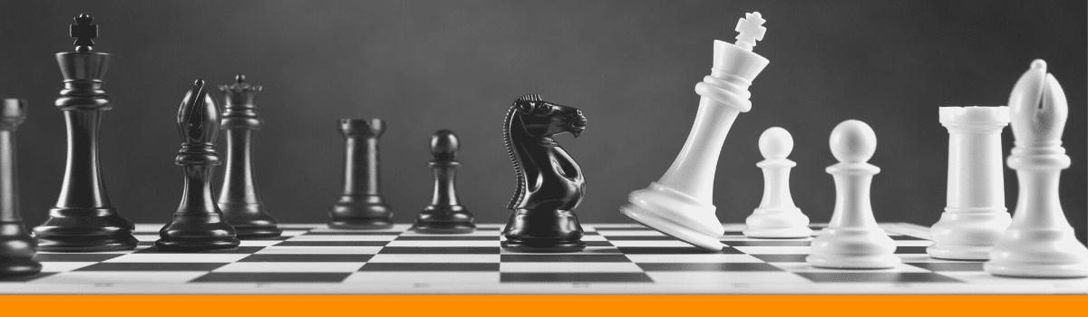chess piece support waging war