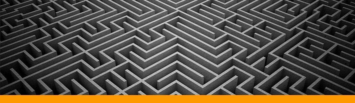 maze lost trapped